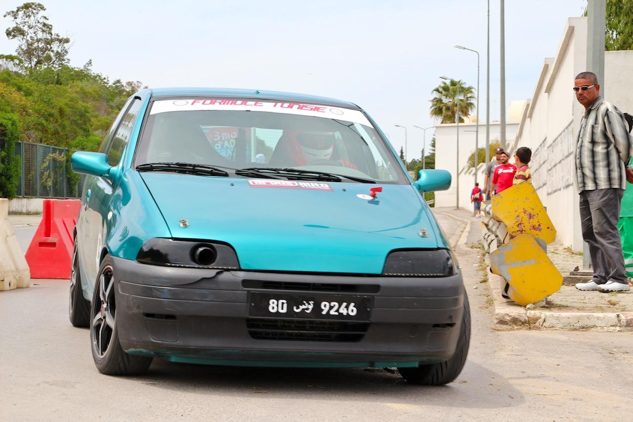 sport auto - formule tunisie 3e manche: victoire de walid maazouz