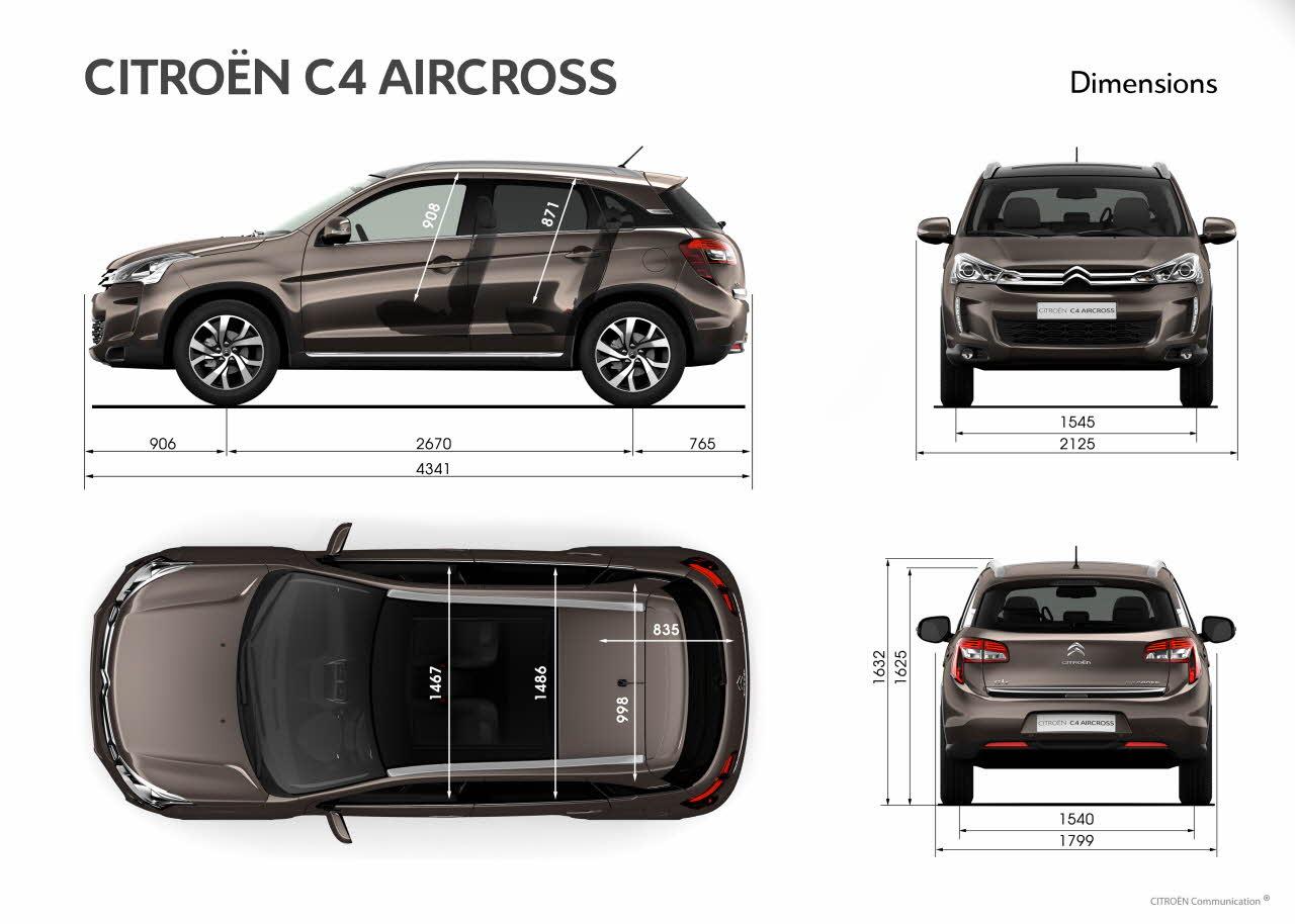 nouveaut s le citro n c4 aircross arrive chez aures auto. Black Bedroom Furniture Sets. Home Design Ideas