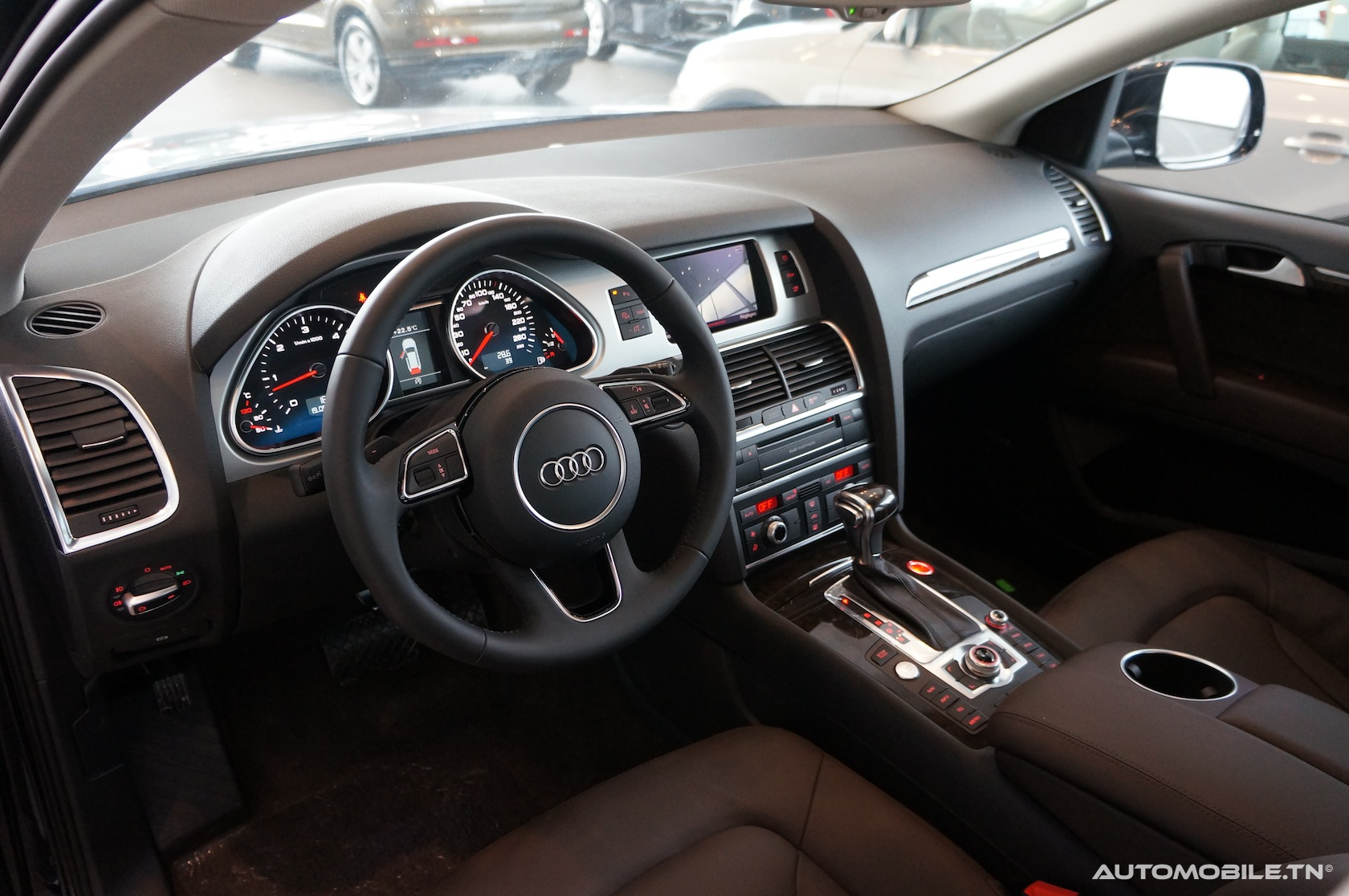 Clear Mounts  Custom Designed Audi Phone Holder