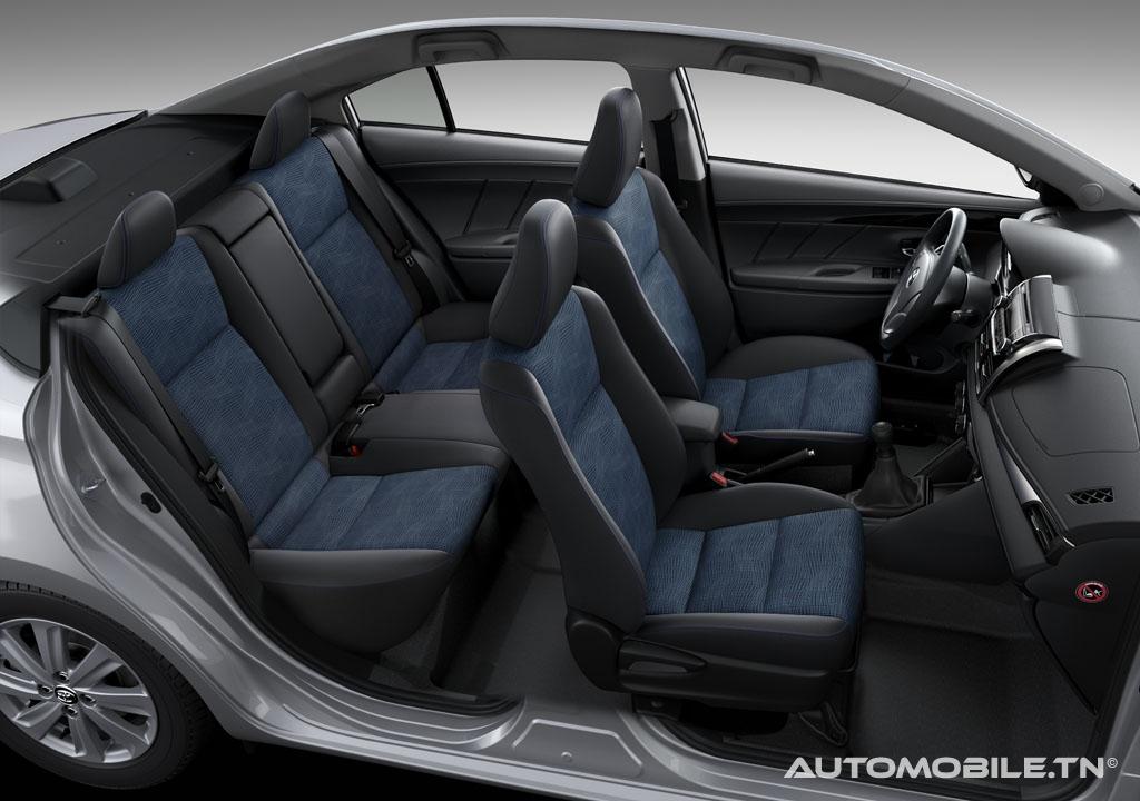 Prix toyota yaris sedan 100 ch dual vvti a for Interieur yaris 2