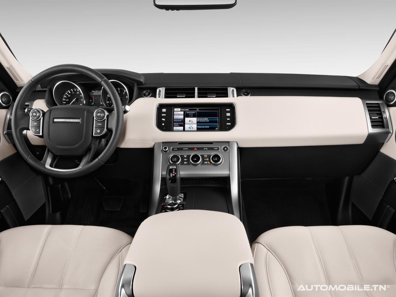 prix land rover range rover sport a partir de 505 300 dt. Black Bedroom Furniture Sets. Home Design Ideas