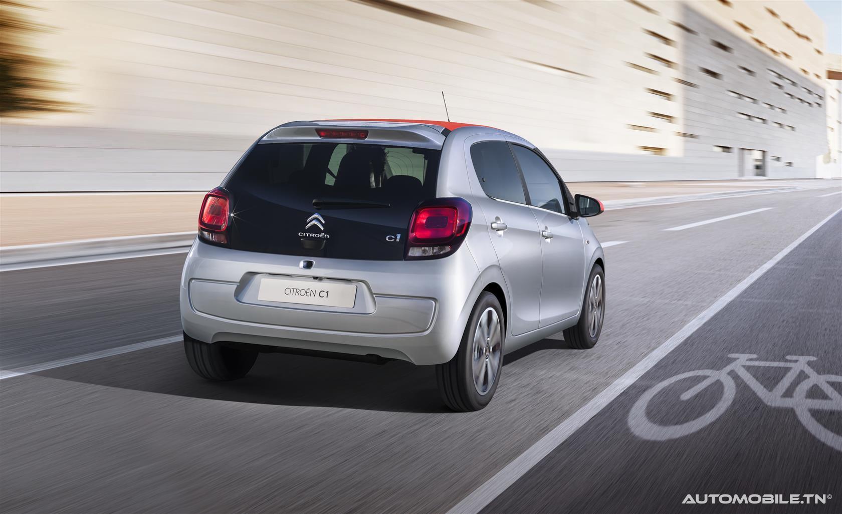 Nouveautés - Nouvelle Citroën C1 !