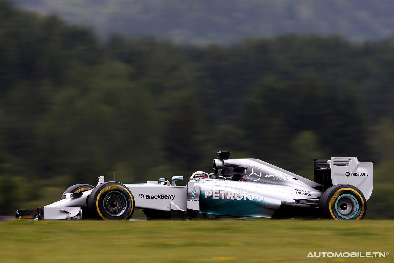 Podium  Pour Mercedes F