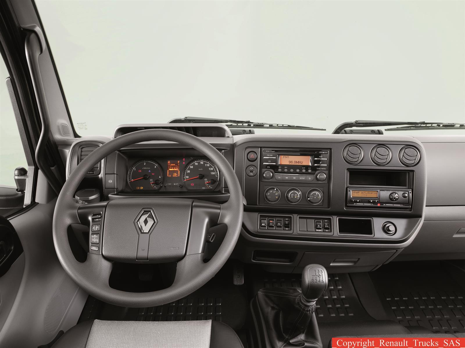 Nouveaut s renault trucks lance une nouvelle gamme de for Renault gamme t interieur