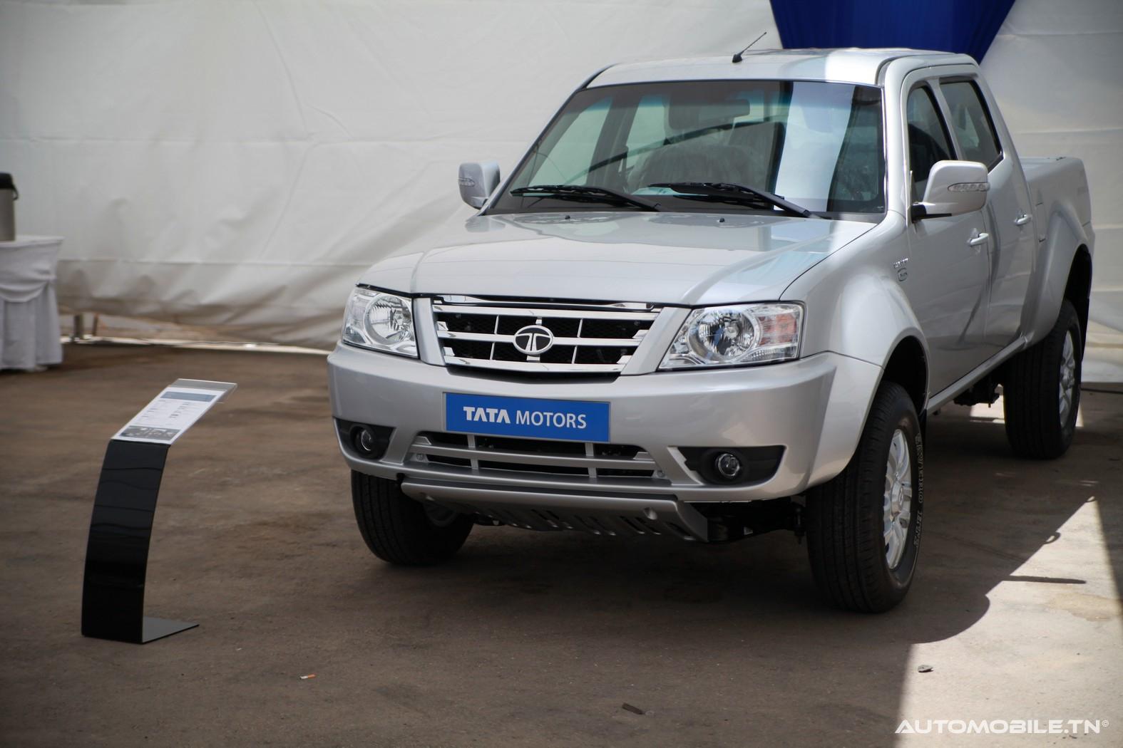 Nouveaut s tata motors le g ant automobile indien en for Salon 9 places tunisie
