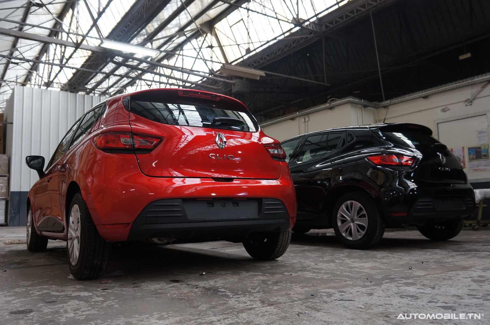 Prix Renault Clio Populaire 1.2 L - A partir de 30 230 DT