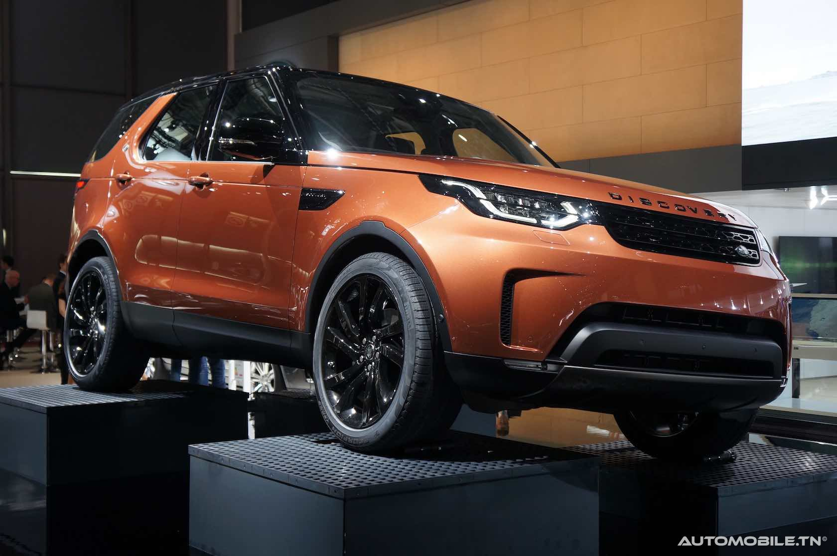 mondial 2016 mondial de paris 2016 land rover discovery. Black Bedroom Furniture Sets. Home Design Ideas