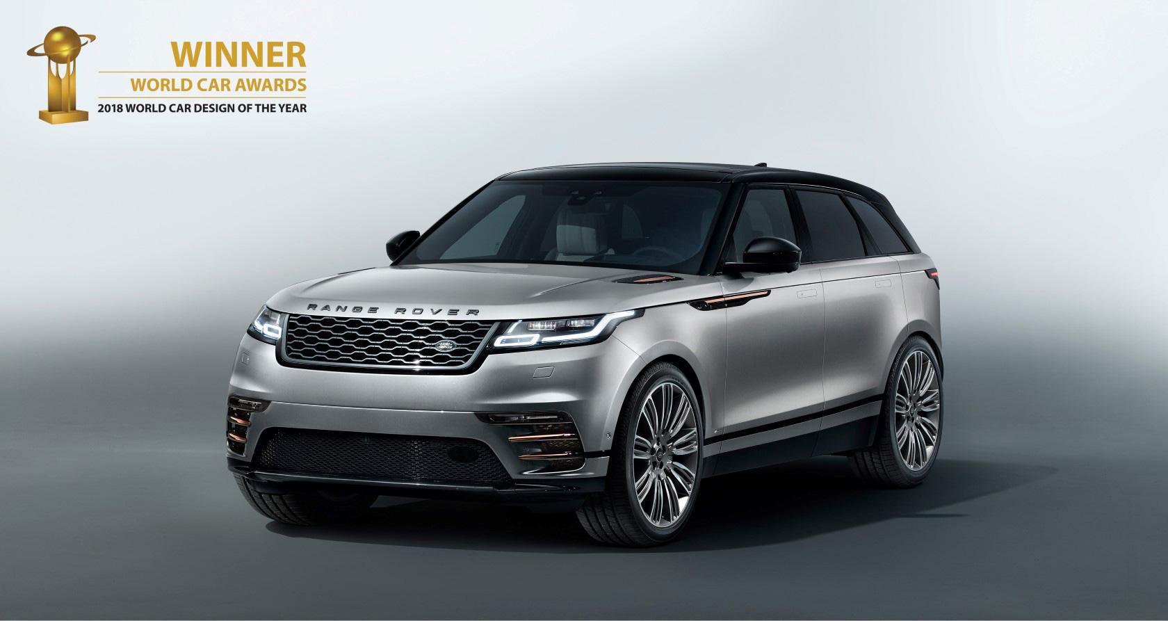 actu range rover velar lue plus belle voiture du monde. Black Bedroom Furniture Sets. Home Design Ideas