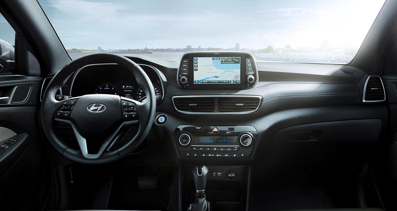 Honda Santa Fe >> Prix Hyundai Tucson 1.6 l GDI BVA neuve - 129 950 DT